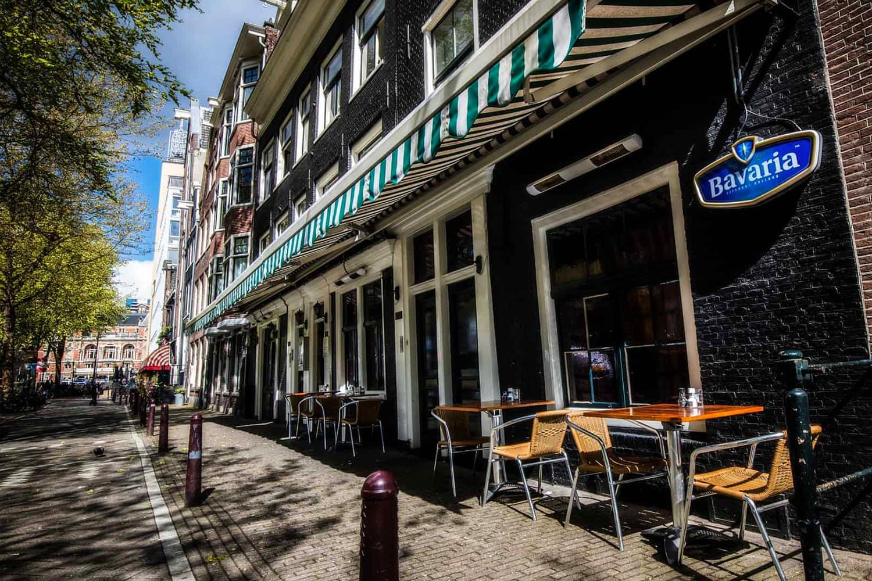 Restaurant Castell, de oude dame op de Lijnbaansgracht